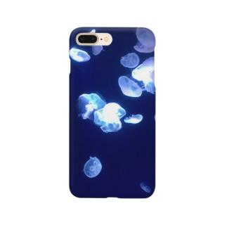癒しのくらげ Smartphone cases