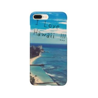 ハワイの海 Smartphone cases