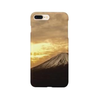 黄金の朝焼 Smartphone cases