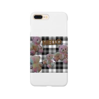 ゆめかわベアー Smartphone cases