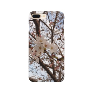 春の桜 Smartphone cases