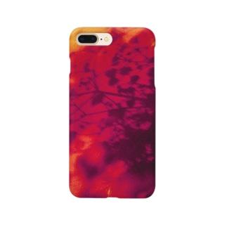 カスミソウの影 Smartphone cases