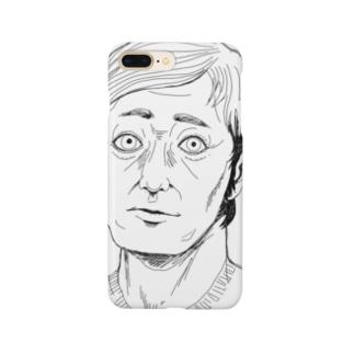 Vネックおじさん Smartphone cases