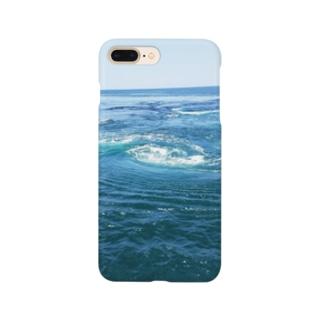 渦潮 Smartphone cases
