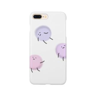 浮遊まるちゃん。 Smartphone cases