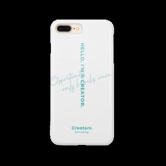 Creators. by Harukana Design.のI'M A CREATOR. - smartphone case Smartphone cases