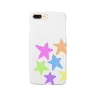 パステルスター★☆ Smartphone cases
