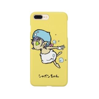 シャボンちゃん Smartphone cases
