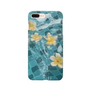 水と花 Smartphone cases