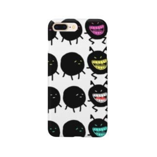 カラフルな悪魔くん。 Smartphone cases