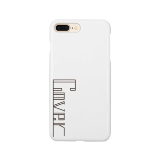 【cover】ホワイト Smartphone cases