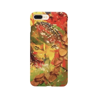 I want to be a flower. Smartphone cases
