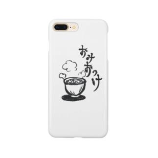 おみおつけ Smartphone cases