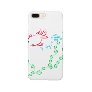 金魚と水草 Smartphone cases