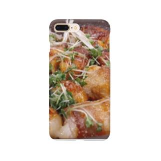 餅の豚肉巻き Smartphone cases