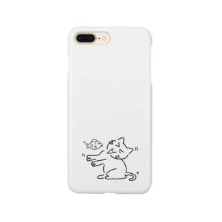 にゃんや~ん Smartphone cases
