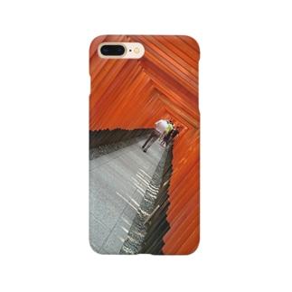 赤の洞窟 Smartphone cases