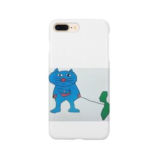サドガシマカイネコ Smartphone cases