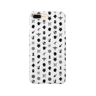 人狼の庭_カードロゴ Smartphone cases