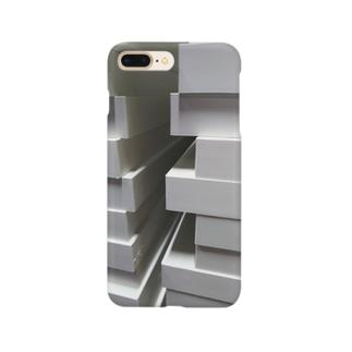不揃いの谷間 Smartphone cases