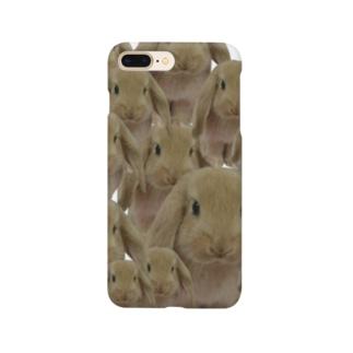 こんもりうさぎ。 Smartphone cases