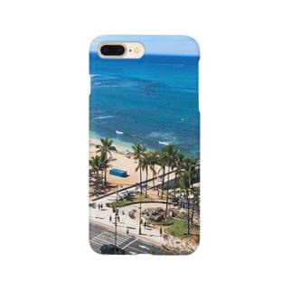 ワイキキビーチ Smartphone cases