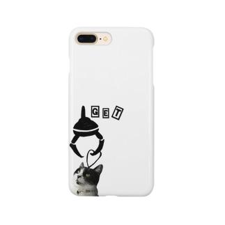 getされるマルさん Smartphone cases