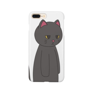 黒猫のえる Smartphone cases