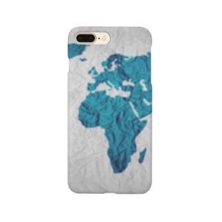 氷と水の世界地図 Smartphone cases