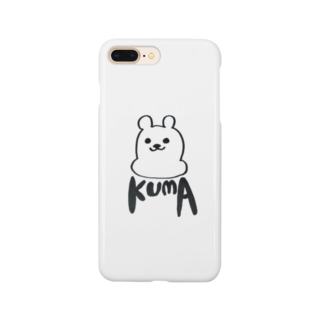 minimaのKUMA3 スマホケース Smartphone cases
