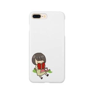 読書のぼぶちゃん Smartphone cases