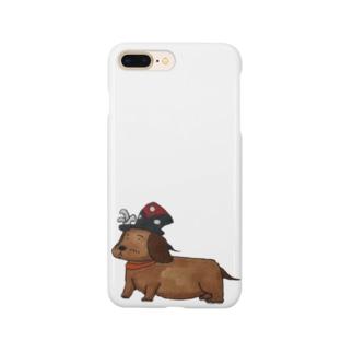 てのックスフント Smartphone cases