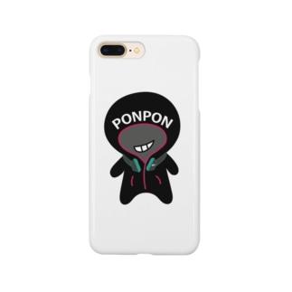 ポンポン Smartphone cases