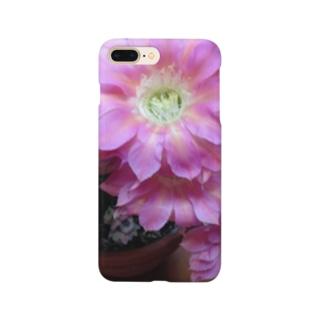 サボテンの花 Smartphone cases