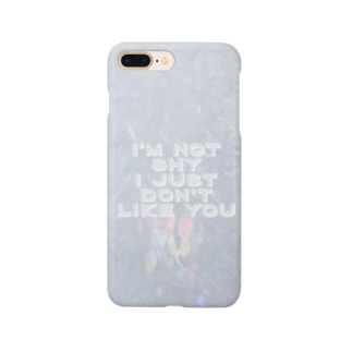 I'M NOT SHY(フリル&グラフィック) Smartphone cases
