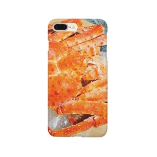 北海タラバガニ Smartphone cases