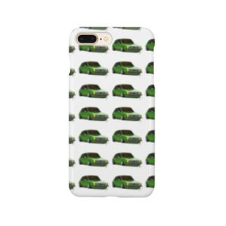 Slammed car① Smartphone cases