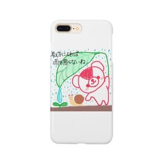 雨にも負けないおせんちゃん Smartphone cases