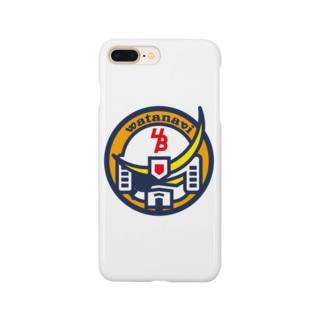 パ紋No.3415 watanavi  Smartphone cases