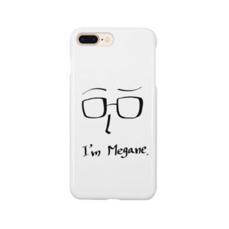 アイム メガネ Smartphone cases