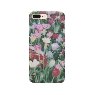 チューリップ畑🌷 Smartphone cases