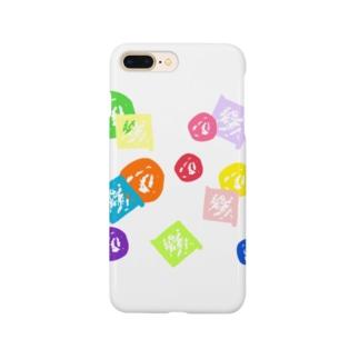 まるしかく Smartphone cases