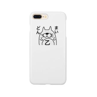 ゆるい猫🐈 Smartphone cases
