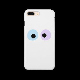 y_mvuのめだまくん。 Smartphone cases