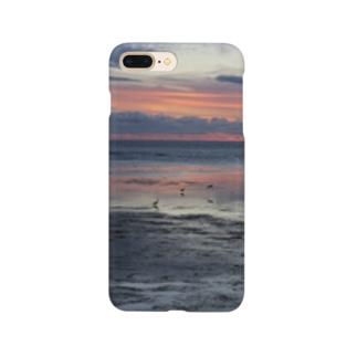 北海道の風景シリーズ 宗谷岬 Smartphone cases