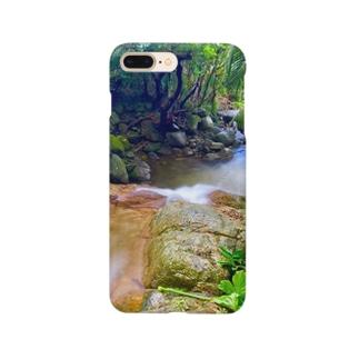 荒川の滝上から Smartphone cases