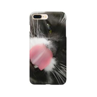 ベロリねこ Smartphone cases