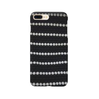 つぶつぶボーダー Smartphone cases