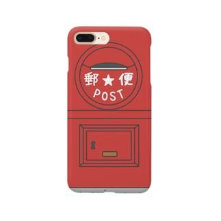 丸型郵便ポスト Smartphone cases