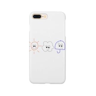 おてんききょうだい Smartphone cases